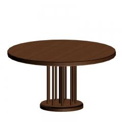 日式简约木质餐桌