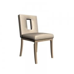 日式小清新皮革餐椅