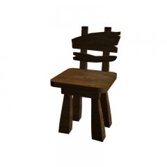 复古风做旧餐椅