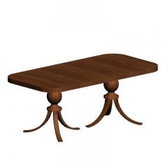 北欧实木小长方桌