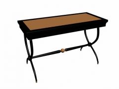 实木餐桌05