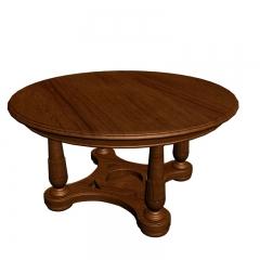 实木餐桌39