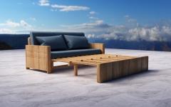 中式多功能沙发模型