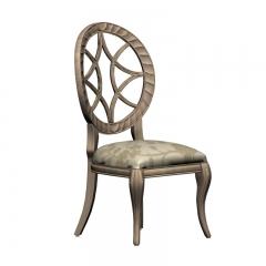 欧式典雅烤漆餐椅
