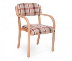 现代简约实木靠背餐椅